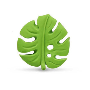 Monstera leaf teether Lanco