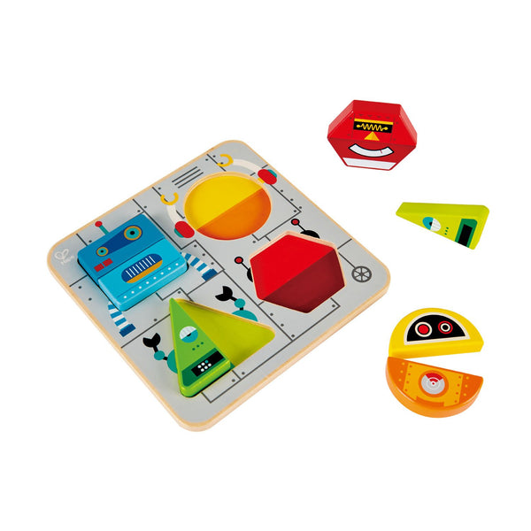 Robot sort and stand up puzzle Hape