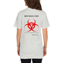 Load image into Gallery viewer, KEEP BACK 6 FEET T-Shirt