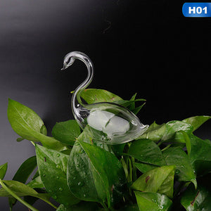 Automatic Self Watering Devices Clear Glass Water Feeder
