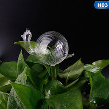 Load image into Gallery viewer, Automatic Self Watering Devices Clear Glass Water Feeder