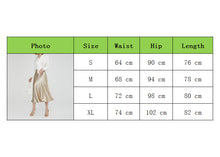 Load image into Gallery viewer, Women's Skirt Glossy Satin Skirt Wet Look Solid Metallic Look High Waist