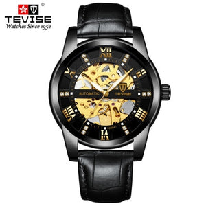 TEVISE Men's Self Winding Mechanical watch