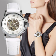 Load image into Gallery viewer, Women's Watch Automatic Mechanical Watch Skeleton Wristwatch Automatic-self-winding