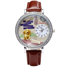 Load image into Gallery viewer, Mini Dog 3D Women Rhinestone Watch-Watches-Shop Alluring