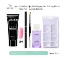 Load image into Gallery viewer, Nail Crystal Extended Poly Gel Kit - Online Fashion Store -Shop Alluring