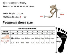 Load image into Gallery viewer, Stiletto High Heels Summer Stretch Fabric Sandal Shoes - Online Fashion Store -Shop Alluring