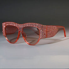 Load image into Gallery viewer, Luxury Square Sunglasses Rhinestone Frame Bling - Online Fashion Store -Shop Alluring