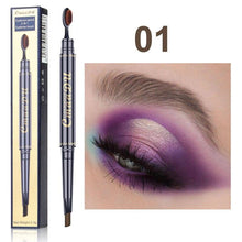 Load image into Gallery viewer, Double Eyebrow Pen with Brush Head Eyebrow Pencil Waterproof Long Lasting - Online Fashion Store -Shop Alluring