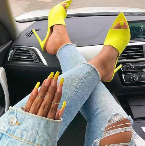 Pointed Stiletto High Heel - Online Fashion Store -Shop Alluring