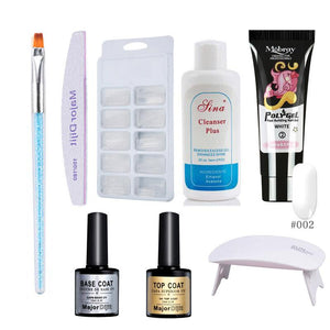 Poly Gel Manicure Quick-drying Phototherapy Glue With Baking Lamp - Online Fashion Store -Shop Alluring