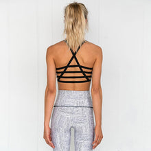 Load image into Gallery viewer, Floral Print Women Bra+Long Pants Fitness Sport Suit-Sportswear-Shop Alluring