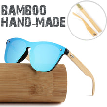 Load image into Gallery viewer, Wooden Mirror Lenses Bamboo Sunglasses - Online Fashion Store -Shop Alluring