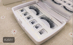Magnetic  Eyelashes 3D Faux Mink Full Strip Lashes False