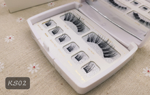 Load image into Gallery viewer, Magnetic  Eyelashes 3D Faux Mink Full Strip Lashes False