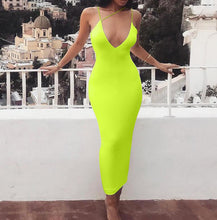 Load image into Gallery viewer, Spaghetti Strap Backless Sexy Bodycon Dress - Online Fashion Store -Shop Alluring