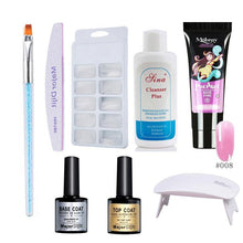 Load image into Gallery viewer, Poly Gel Manicure Quick-drying Phototherapy Glue With Baking Lamp - Online Fashion Store -Shop Alluring