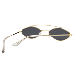 Sunglasses Retro Oval Vintage Lenses - Online Fashion Store -Shop Alluring