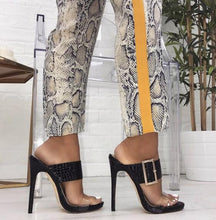 Load image into Gallery viewer, Sexy Thin Heels Sandals  High-Heeled Buckle Slides Shoes - Online Fashion Store -Shop Alluring