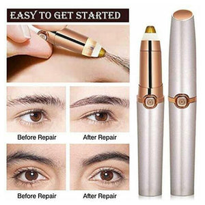 Painless Electric Eyebrow Epilator Pen Remover Eyebrow Trimmer - Online Fashion Store -Shop Alluring
