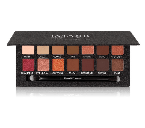 IMAGIC 14 Color Matte Nude Eye Shadow Pallete Cosmetics-Beauty-Shop Alluring