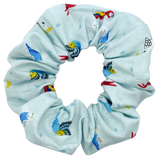 bird scrunchie macaw parrot budgie cocatoo peppermint