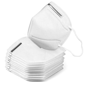 TUGU KN95 5-Layer 95% Filtration Respirator Face Masks 1000 Pack - [inlandppe.com]