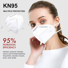 Load image into Gallery viewer, TUGU KN95 5-Layer 95% Filtration Respirator Face Masks 1000 Pack - [inlandppe.com]