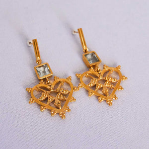 leah earrings/GRE102G