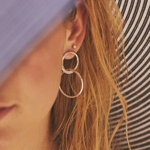 semni earrings/ E10S