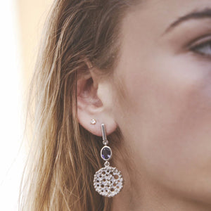 perca earrings/ GRE105S
