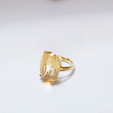 Load image into Gallery viewer, Yellow Topaz Ring/ CUSTOM ORDERS ONLY