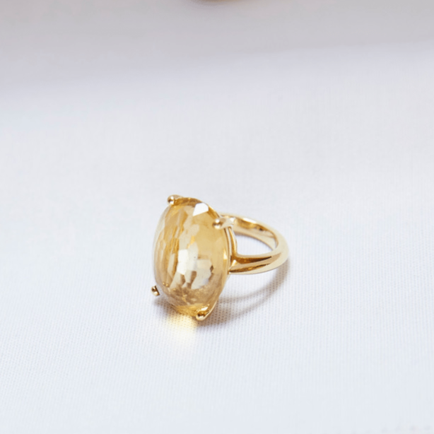 Yellow Topaz Ring/ CUSTOM ORDERS ONLY