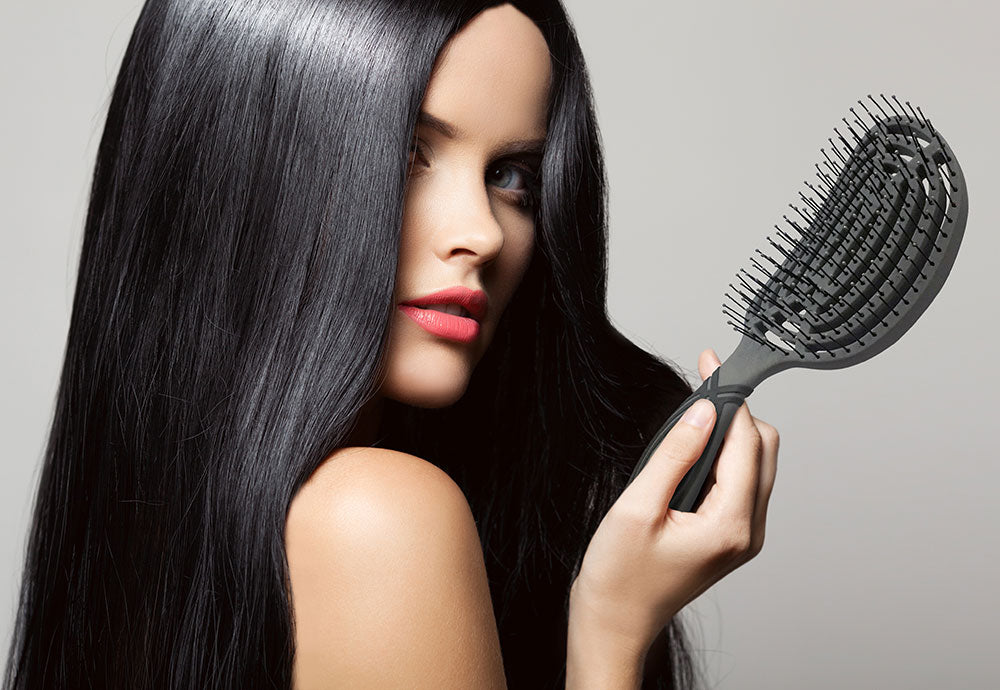 Double-C Pro A Professional Hairbrush that Does-it-all the Easier Way!