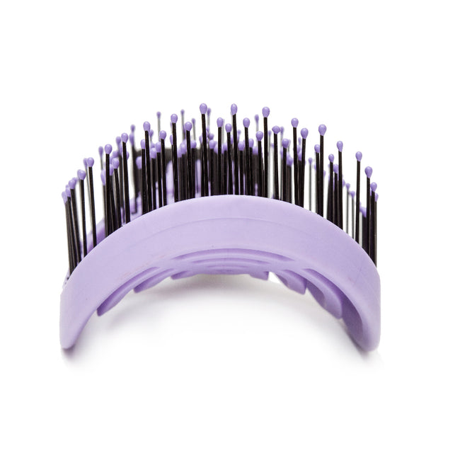 Patented Venting hair brush DoubleC - Purple