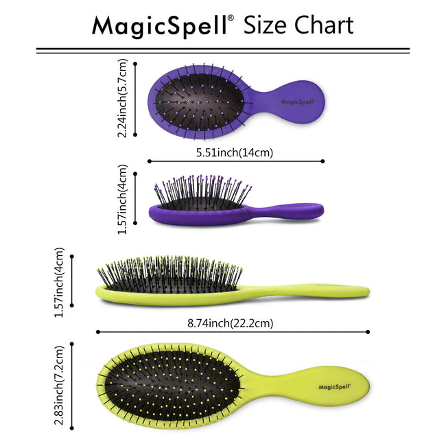 MagicSpell Combo - PURPLE+LIGHT GREEN