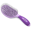 Patented Venting hair brush C Brush - Purple