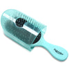 Patented Travel hair brush Traveler - Soft Green