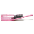 Patented Travel hair brush Traveler - Pink
