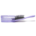 Patented Travel hair brush Traveler - Purple