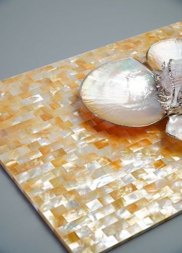Rectangle Mother of Pearl Placemat