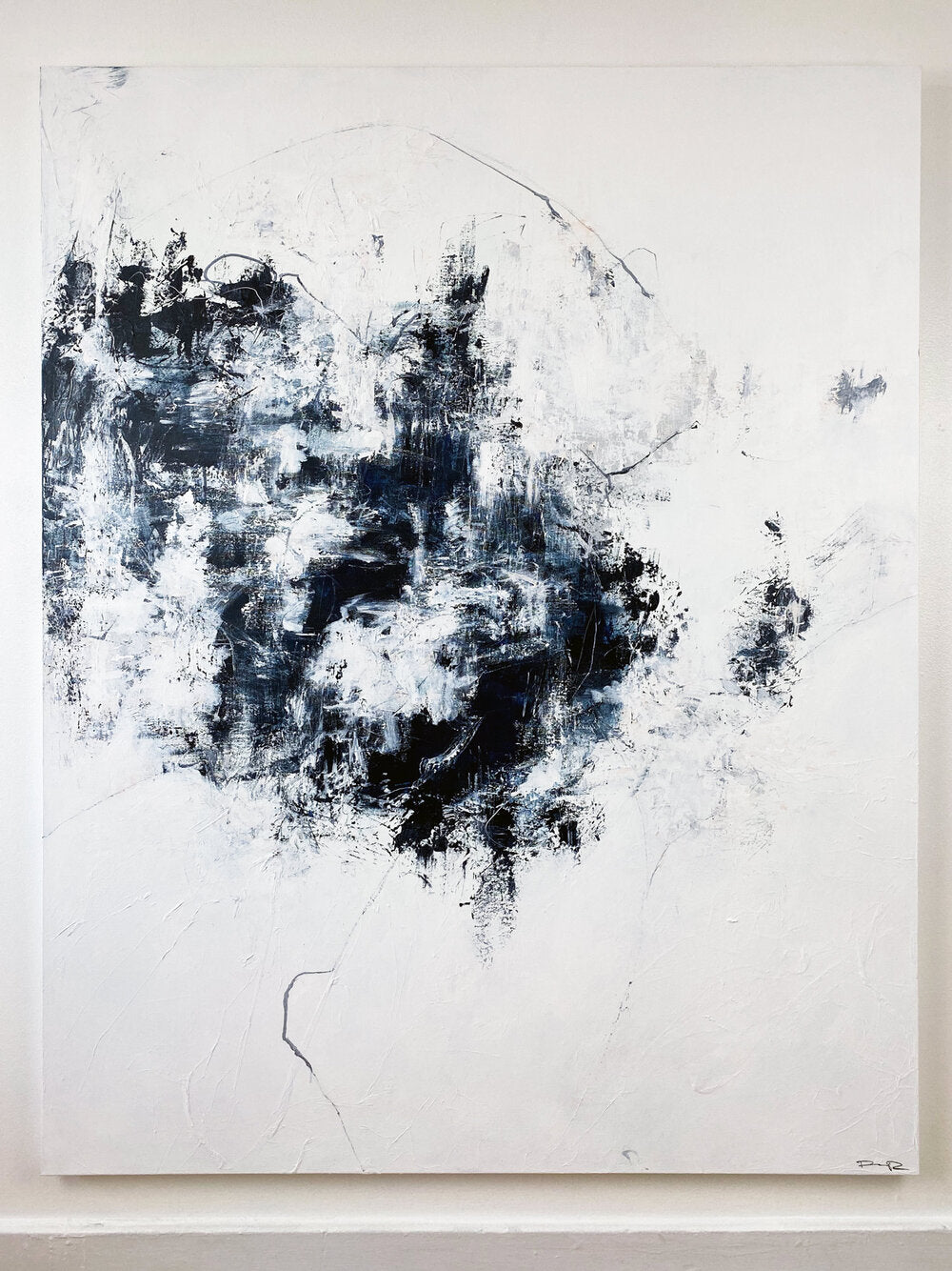 Quiet Thoughts - Abstract Painting by Paige Ring