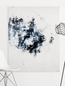 Quiet Thoughts - on Wall - Abstract Painting by Paige Ring