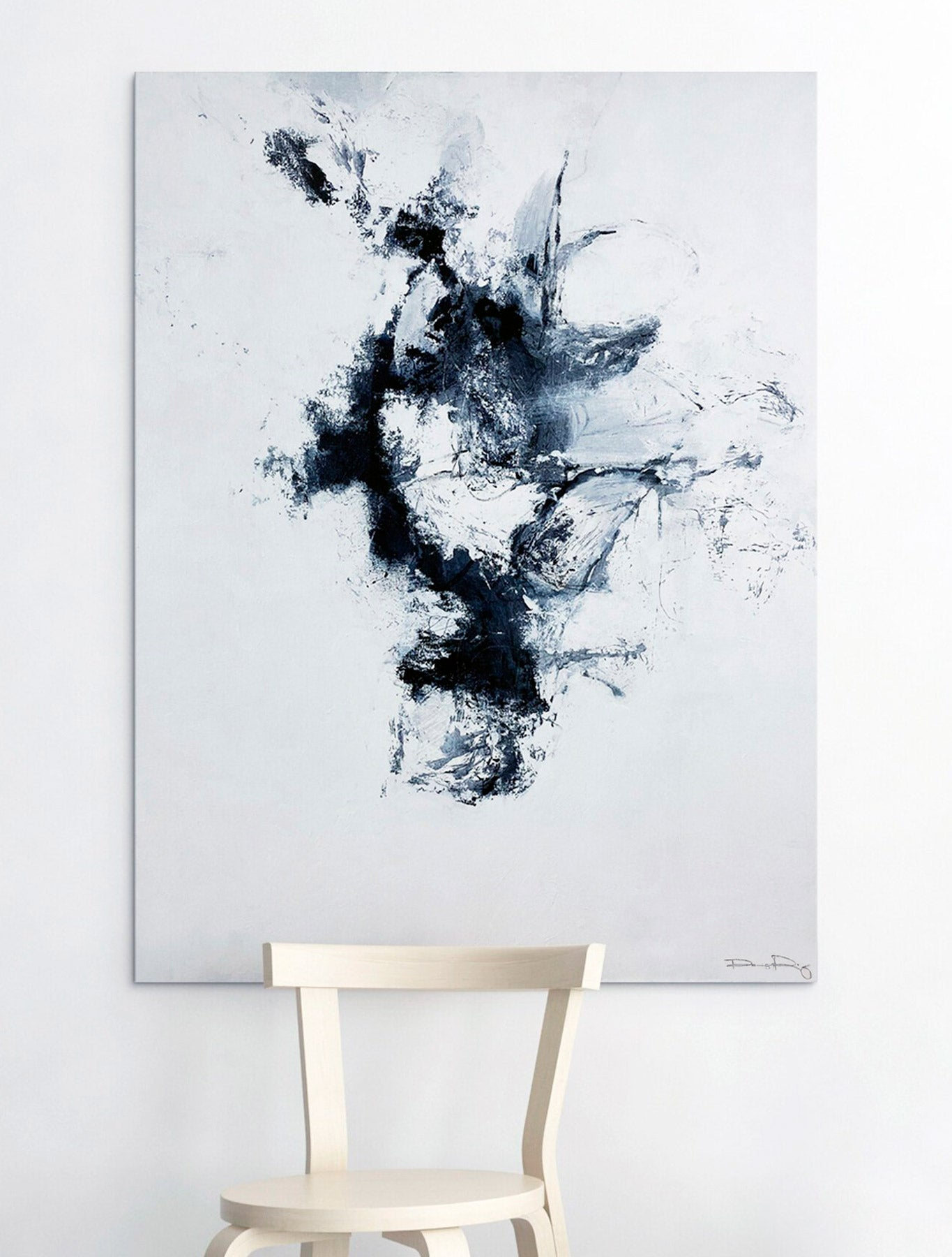 Clear Your Head (on Wall) - Abstract Artwork By Paige Ring