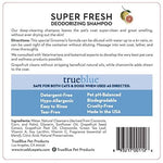 Super Fresh Dog Shampoo - Concentrated Professional Formula