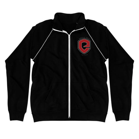 Logo Piped Fleece Jacket