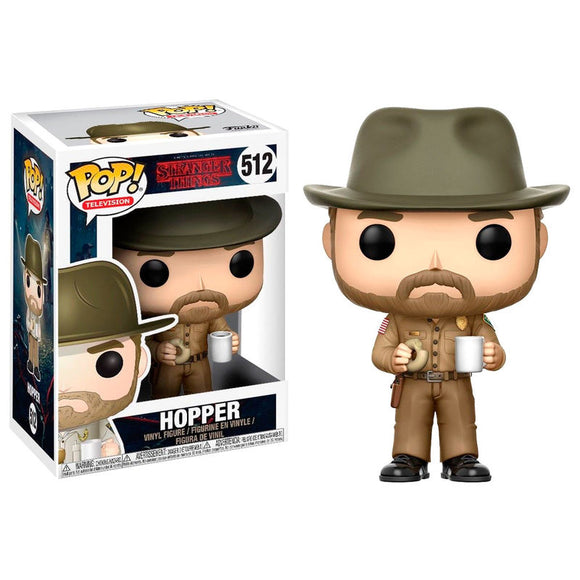 Figura POP Stranger Things Hopper