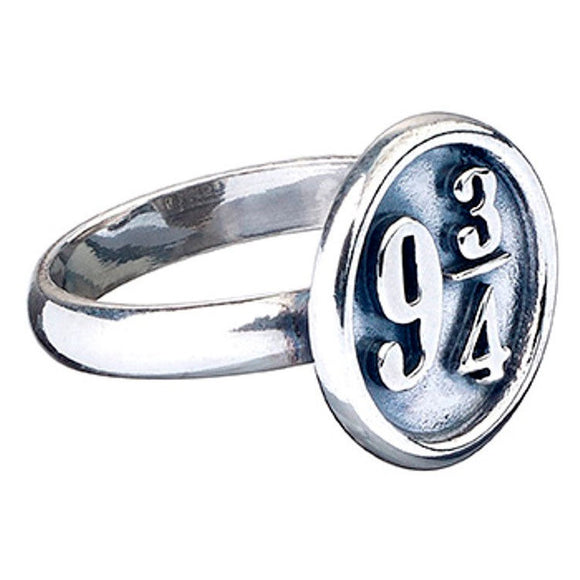 Anillo Platform 9 3/4 Harry Potter de Plata