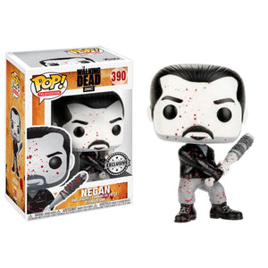 Figura POP The Walking Dead Negan Black & White Exclusive