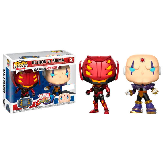 Set 2 figuras POP Capcom vs. Marvel Ultron vs Sigma Exclusive